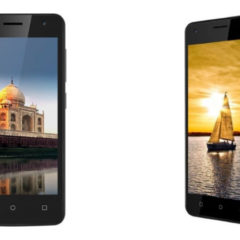 iVoomi Me 4 And Me 5 With Android 7.0 Nougat OS Launched At 3,499 INR And 4,499 INR