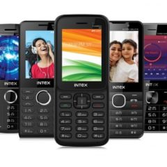 Intex Launches 4G VoLTE Turbo 4G+ And Other Feature Phones In India