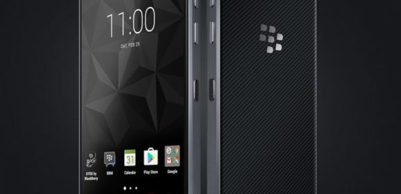 BlackBerry Motion With 5.5 inch FHD Display And 4GB RAM Announced