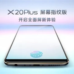 Vivo X20 Plus- First Smartphone With In-Display Fingerprint Scanner Launching On 24 Jan