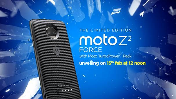 699957dab Motorola Moto Z2 Force With Quad HD Display And Snapdragon 835 ...