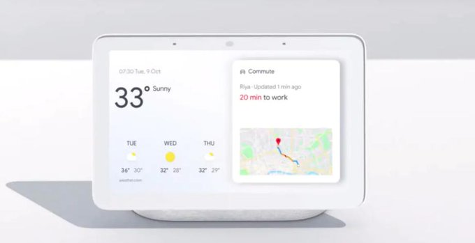 Google brings Nest Hub to India
